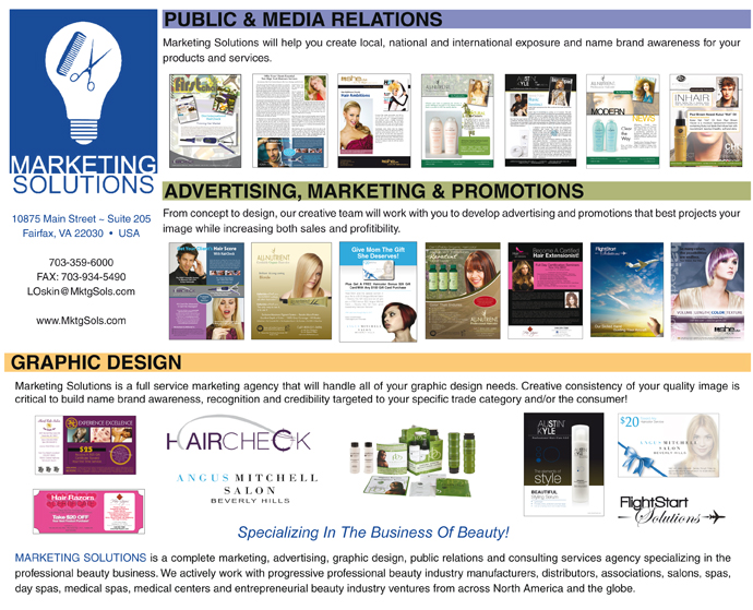 Marketing Solutions Porfolio Splash